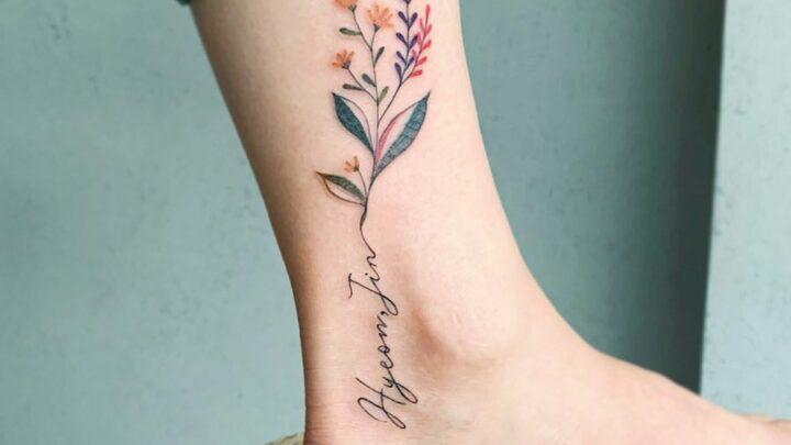 Tatuaggio cavigliera: le idee migliori